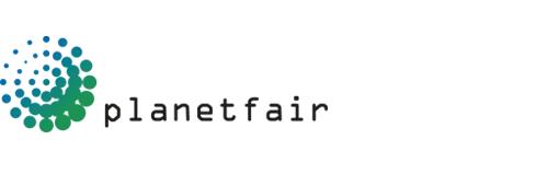Logo planetfair international trade fairs